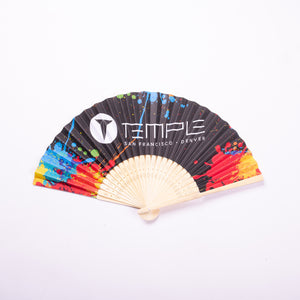Temple Hand Held Fan
