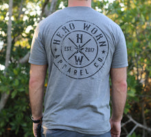Hero Worn grey Made in USA Unisex Tee First Responder Police Military America Army Navy Air Force Marines Coast Guard Firefighter Doctor Nurse Teacher Special Forces Hand Sewn Quality Material Hero Service Operation Home Front Concerns of Police Survivors National Fallen Firefighters Foundation AdoptAClassroom.org