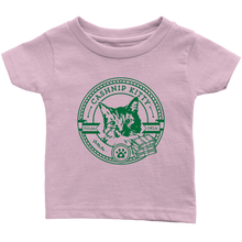 Cashnip Kitty Fan Club T-Shirt (Infant or Pet) Green Logo