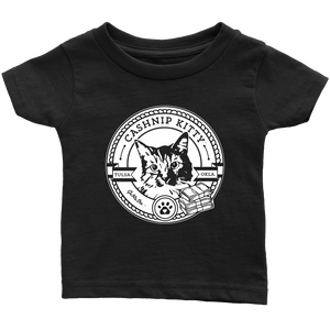 Cashnip Kitty Fan Club T-Shirt (Infant or Pet) White Logo