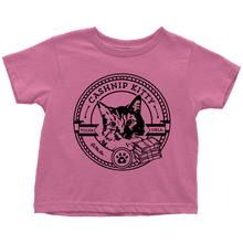 Cashnip Kitty Fan Club Tee Toddler Black Logo