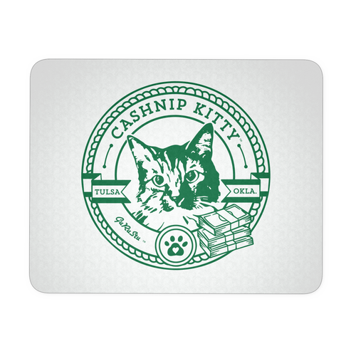 Cashnip Kitty Official Fan Club Mouse Pad