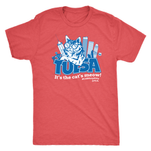 Tulsa - It's the Cat's Meow Tri-blend Tee