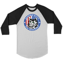 CASHnip Kitty for President Raglan Tee