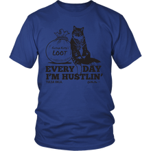 Cashnip Kitty Daily Hu$tle Tee Black Logo