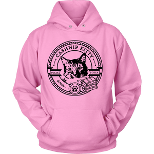Cashnip Kitty Fan Club Hoodie Black Logo