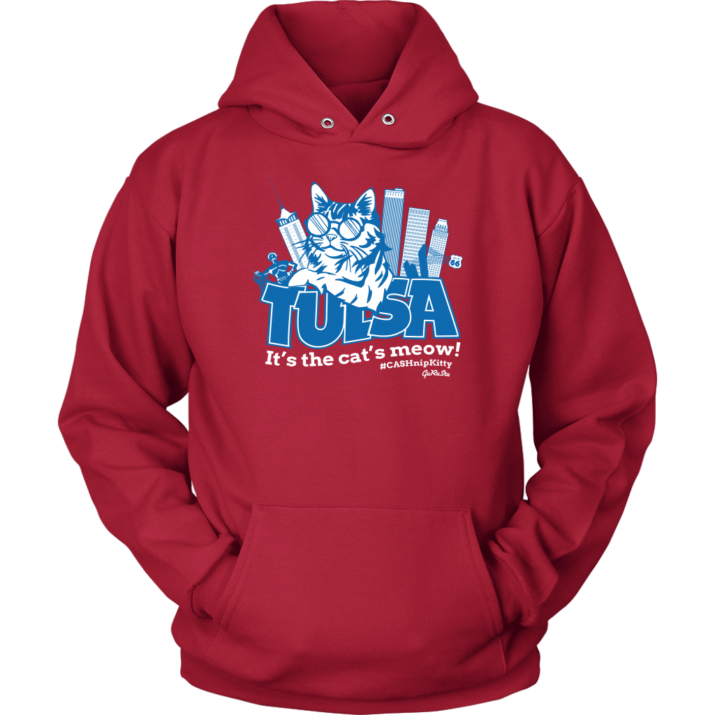 Tulsa - It's the Cat's Meow Unisex Hoodie