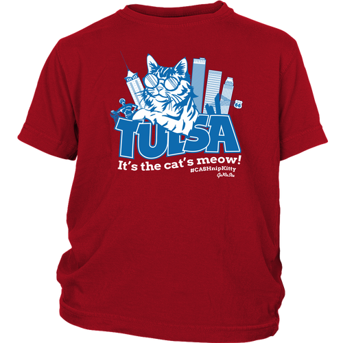 Tulsa - It's the Cat's Meow - Youth Tee