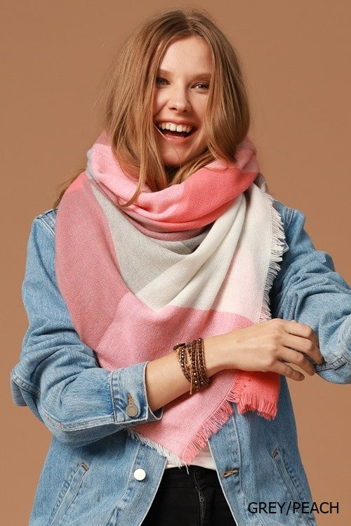 Wrapped With Love Blanket Scarves