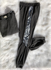 Dream Of Me Velvety Loungewear Pants - 1 small left!