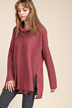 Marsala Cowl Neck Sweater (Available in Marsala and Navy)