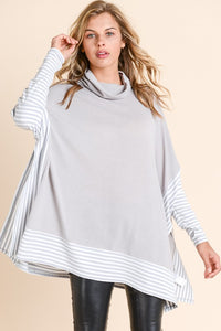 Over Sized Cape Sweater Top