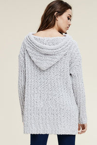 Grey Popcorn Sweater