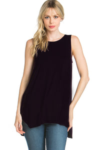 Sleeveless Top in Black