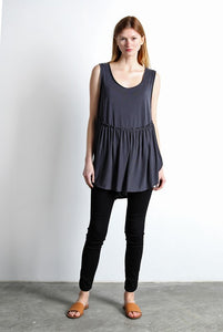 Black Mod Ref Sleeveless Luna Top