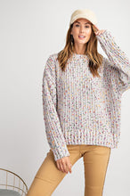 Light Grey Speckled Sweater
