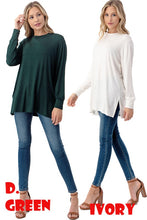 Azules Solid Top (Black, Hunter Green)