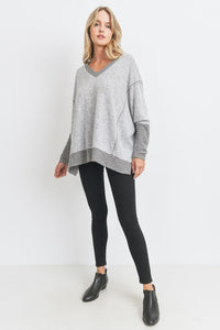 Boxy Brushed Knit Top