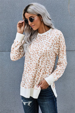 Leopard Loose Fit Sweatshirt (Available in XL)