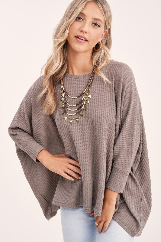 Mocha So Chill Tunic