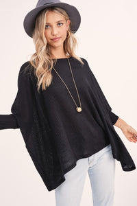 Restock of Black So Chill Tunic