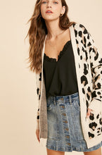 Leopard Cardigan (Estimated to ship on 11/16)