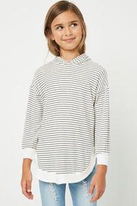 Ribbed Striped Top (Estimated Shipping 11/6)