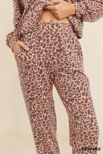 Leopard Print Jogger Set (Available in XL)