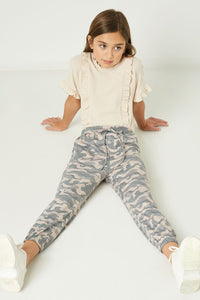 Kids Washed Camo Joggers