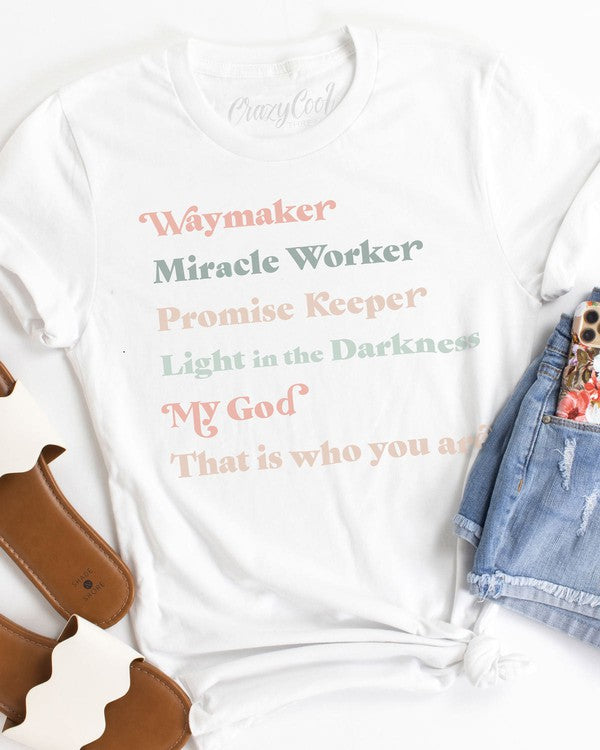 Bella Canvas Waymaker T-shirt