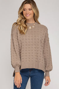 Balloon Knit Sweater