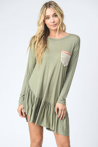Linen Long Sleeve Tunic