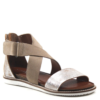 Diba True Silver/Natural Sandals