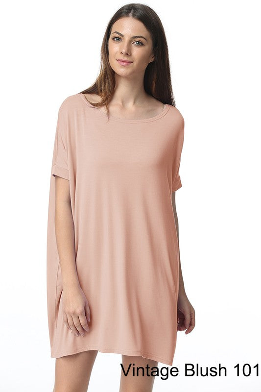Piko Tunics (Comes in Blush, Serenity Blue, Black, Off White, and Grey)