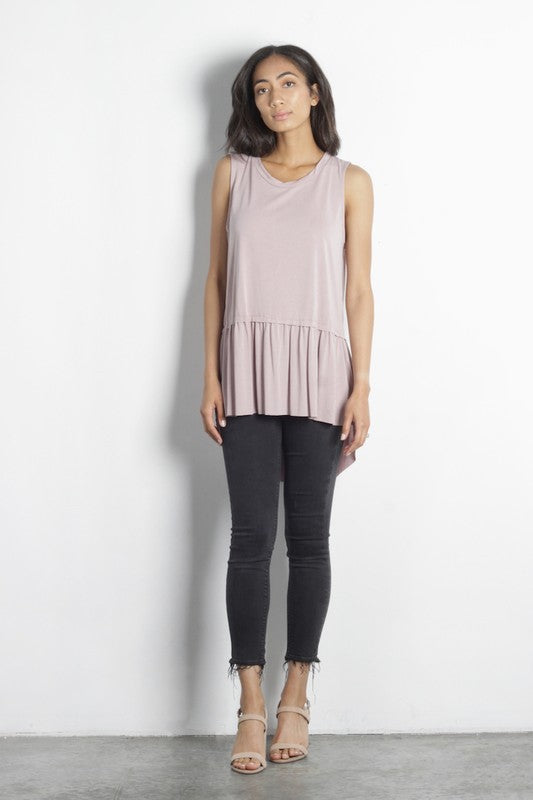 Blush Mod Ref Sleeveless Luna Top