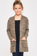 Kids Heather Grey Cardigan