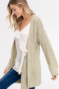 Light Olive Cardigan (More of a Celery Color in Person)