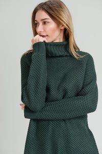 Hunter Green Knit Sweater