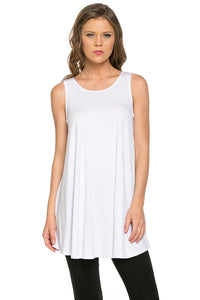 Sleeveless Top - White