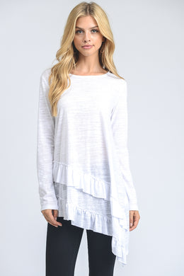 Tri-blend Long Sleeve Tunic