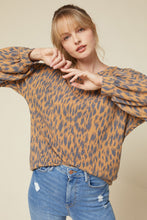 Printed Knit Top