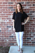 Mud-Pie JERSEY TUNIC IN Black