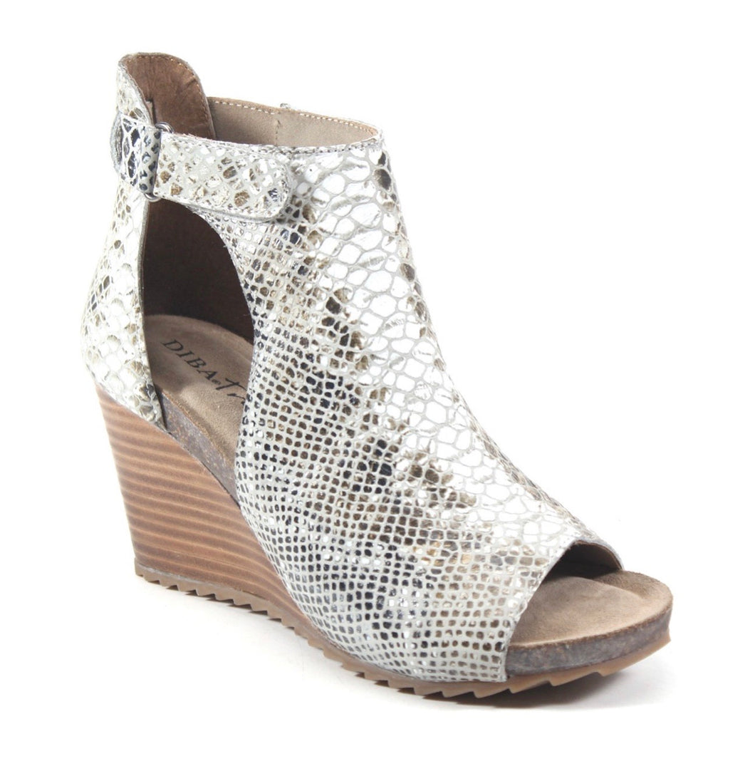 Diba True New Year Snake Print Wedges