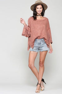 Ginger Oversized Top