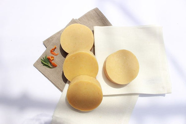 natural solid shampoo bars avocago tangerine