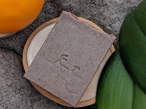 Vanilla Orange Scrub Bar