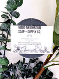 Charcoal Sage Shampoo Bar for Combination Hair| Natural Hair Care