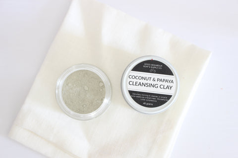 Papaya & Coconut Cleansing Clay Mask