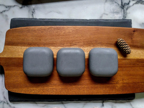 Charcoal + Tea Tree Facial Bar | Natural Soap
