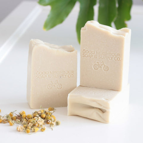 Olive + Chamomile Body Soap